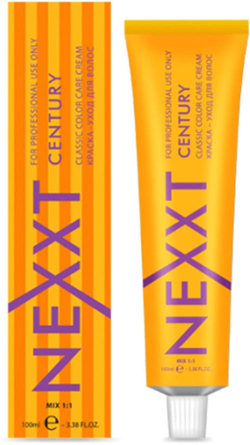 Крем-краска для волос Nexxt Professional Nexxt Classic Permanent Color Care Cream Century, оттенок №5.4 светлый шатен медный, 100 мл