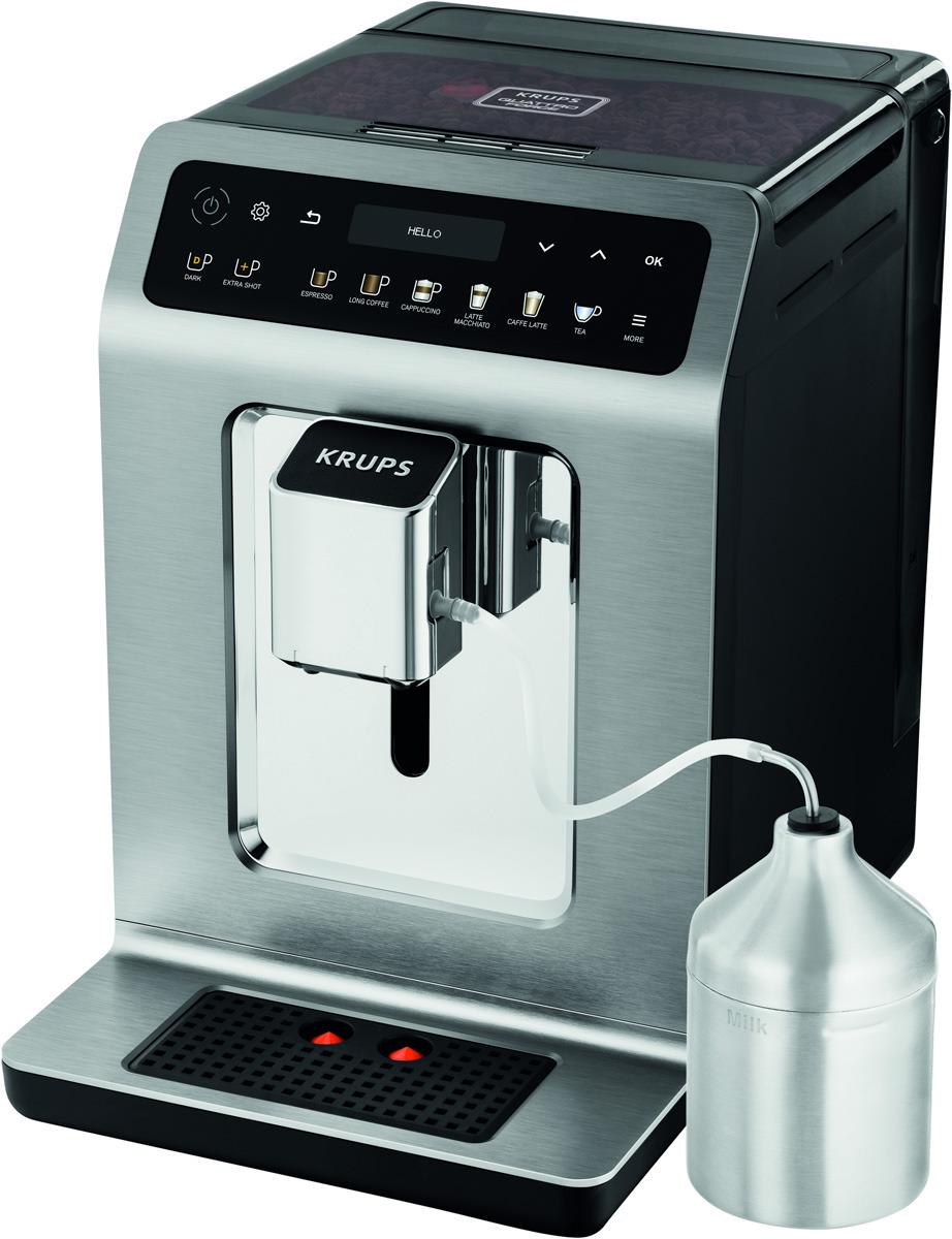 Кофемашина Krups EA894T10, 8010000431, Steel цена