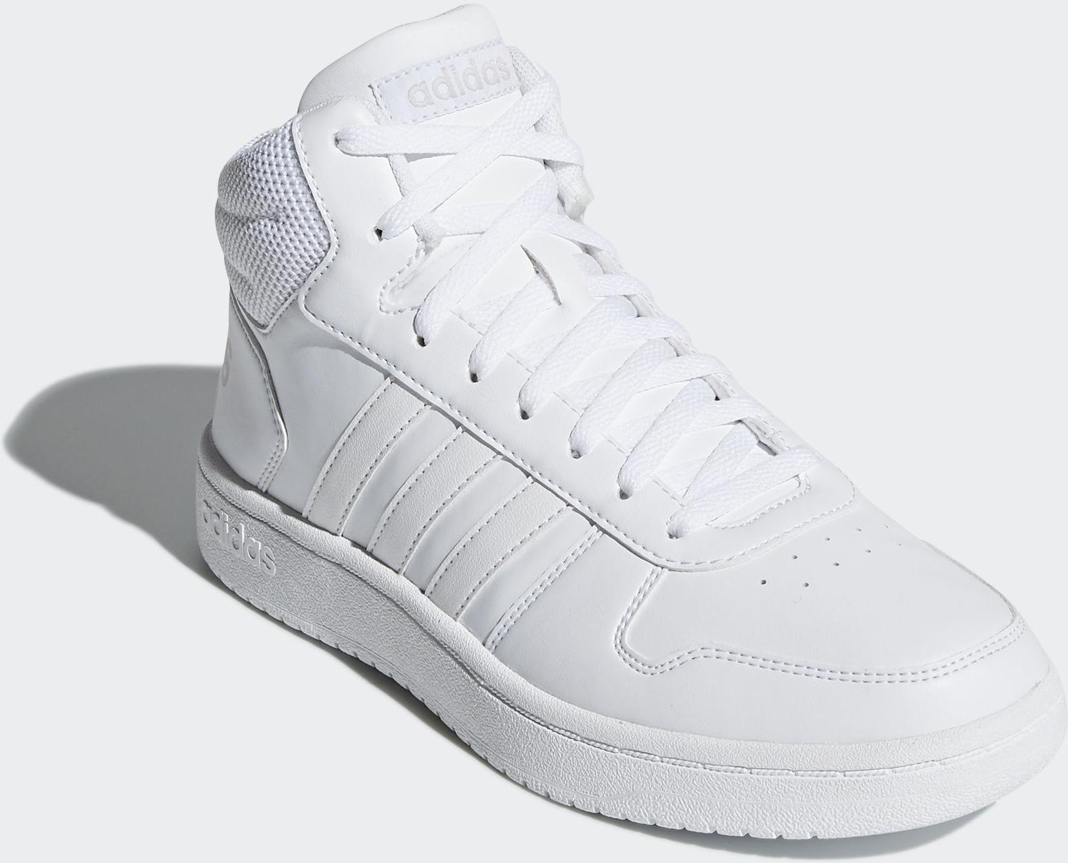 где купить Кроссовки adidas Hoops 2.0 Mid дешево