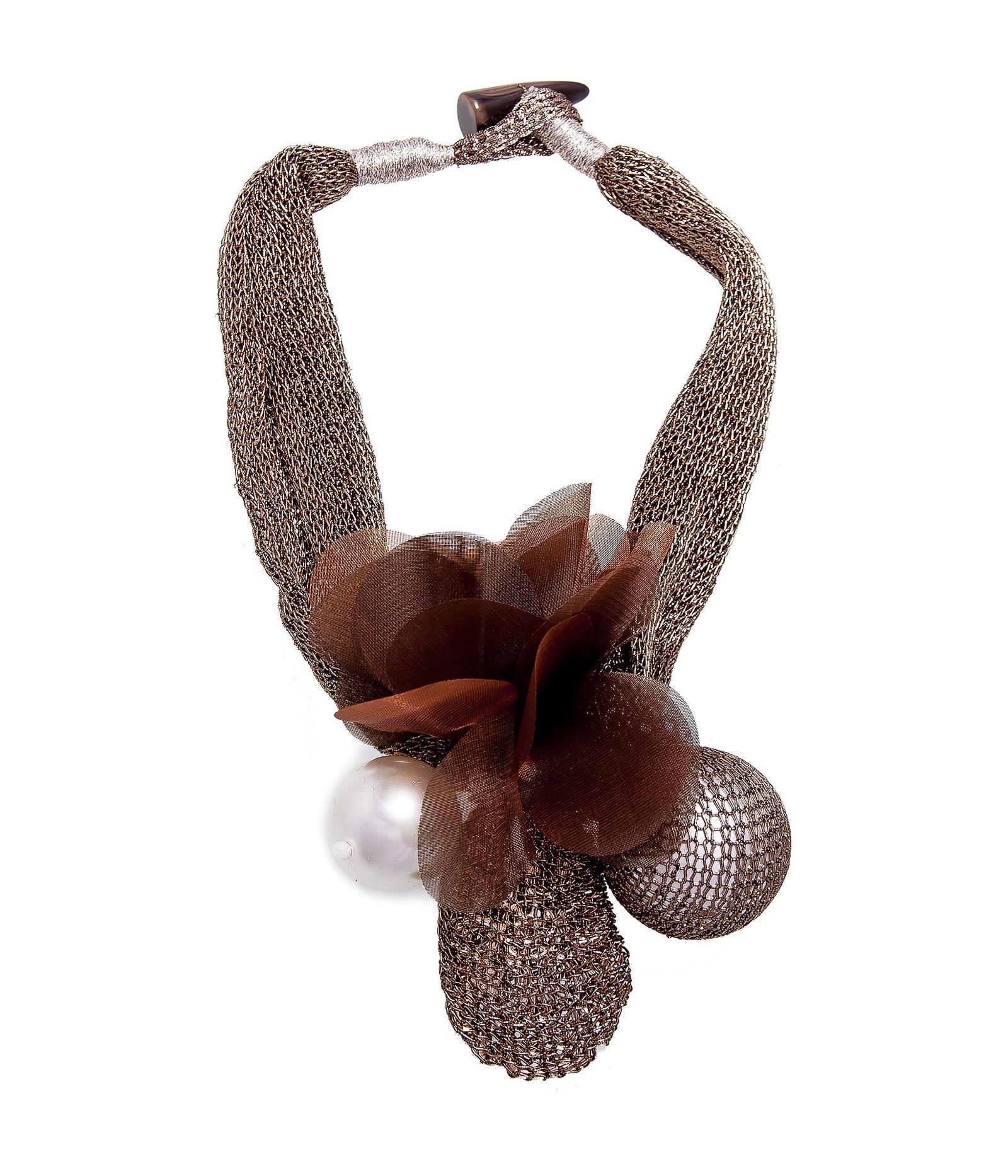 Колье Kameo-bis, 56 см. NC807074NC807074Размер 56 х 6 см. Состав: кристаллы, акрил, пластик, текстиль