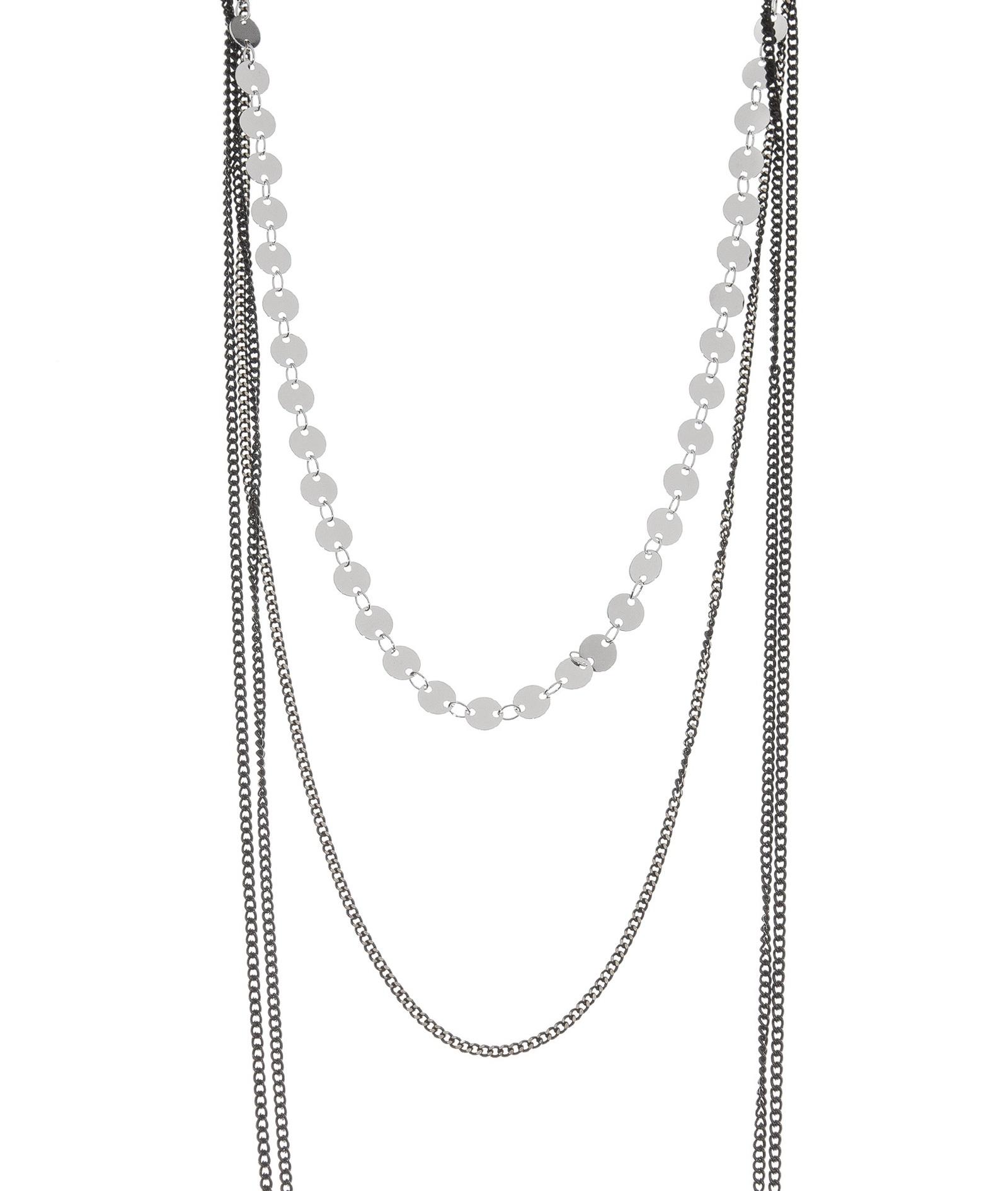 Чокер Kameo-bis, цвет: серебряный. NC808058