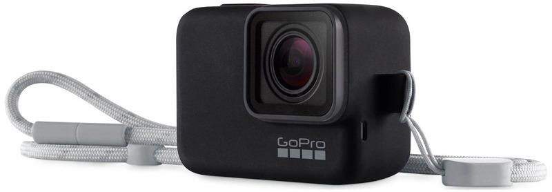 Силиконовый чехол GoPro ACSST-001, цвет: черный силиконовый чехол gopro acsst 004 цвет розовый