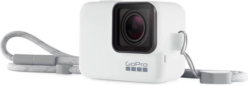 Силиконовый чехол GoPro ACSST-002, цвет: белый силиконовый чехол gopro acsst 004 цвет розовый