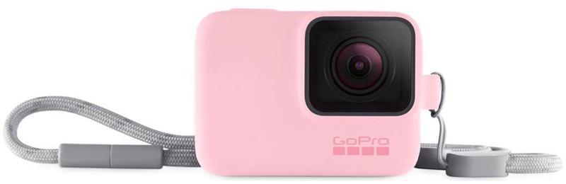 Силиконовый чехол GoPro ACSST-004, цвет: розовый силиконовый чехол gopro acsst 004 цвет розовый
