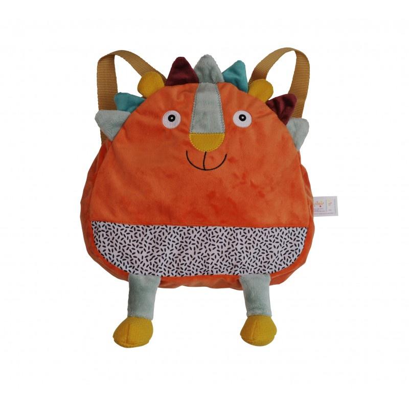 Рюкзачок Ebulobo Львенок Вуги, цвет: оранжевый