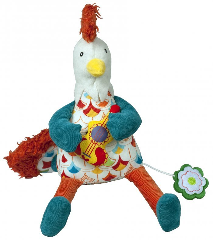 Музыкальная игрушка Ebulobo Петушок Боб музыкальная игрушка ebulobo петушок боб