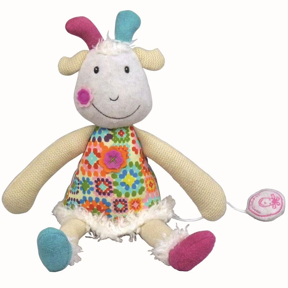 Музыкальная игрушка Ebulobo Козочка Жужу музыкальная игрушка ebulobo петушок боб