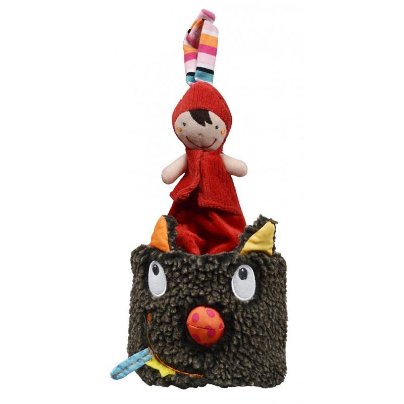 Музыкальная игрушка Ebulobo Волчонок в шляпе музыкальная игрушка ebulobo петушок боб