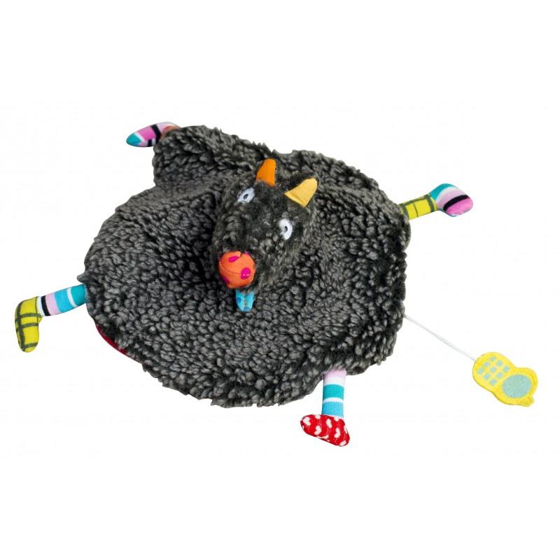 Музыкальная игрушка Ebulobo Волк и Красная Шапочка музыкальная игрушка ebulobo петушок боб