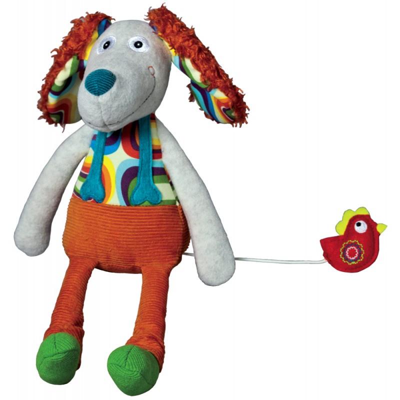 Музыкальная игрушка Ebulobo Песик Тони музыкальная игрушка ebulobo петушок боб