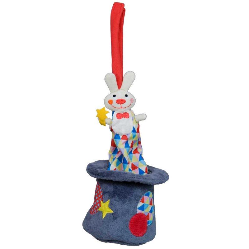 Музыкальная игрушка Ebulobo Кролик в шляпе музыкальная игрушка ebulobo петушок боб