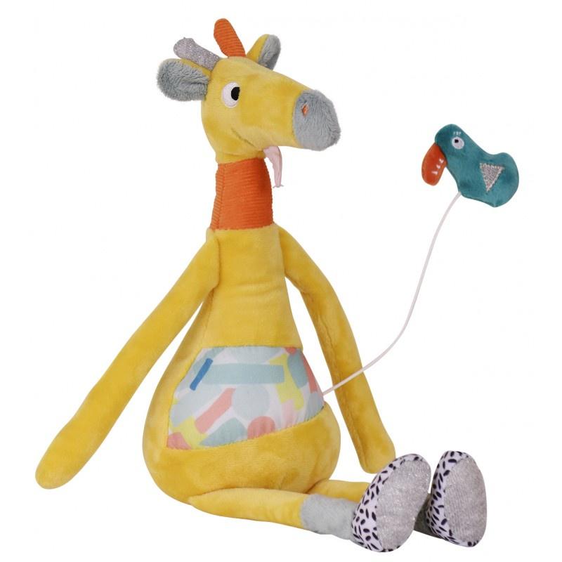 Музыкальная игрушка Ebulobo Жираф lamaze музыкальная игра лев логан звук мелодия lamaze