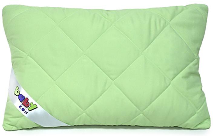 """Подушка детская Мягкий Сон """"Бамбук"""", 40 х 60 см, цвет: зеленый. ПСБч-612у"""