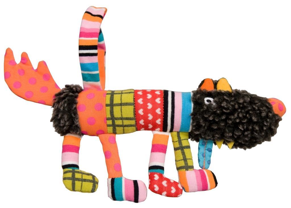 Мягкая игрушка Ebulobo Сосиска Волчонок S, 20 см ebulobo мягкая игрушка сосиска волчонок s 20 см ebulobo