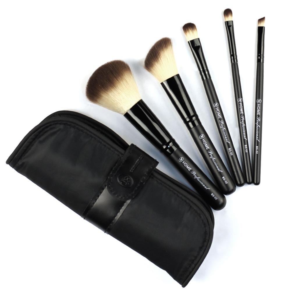 цена на Набор кистей для макияжа TF Total Beauty Set Home Professional, 5 шт