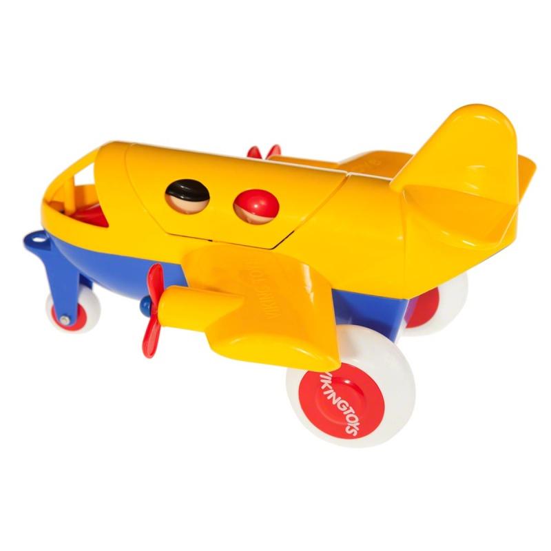 Самолет Viking Toys, с двумя фигурками, цвет в ассортименте, 30 см viking toys самолет джамбо цвет красный