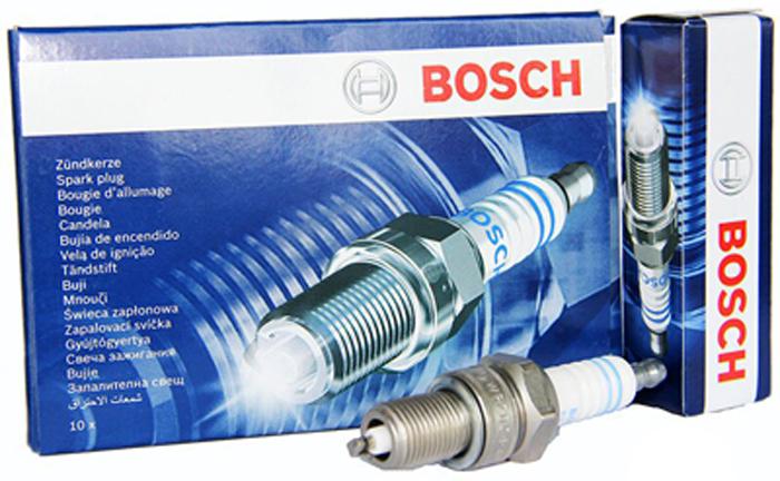 Свеча зажигания Bosch 242236544 цена 2017