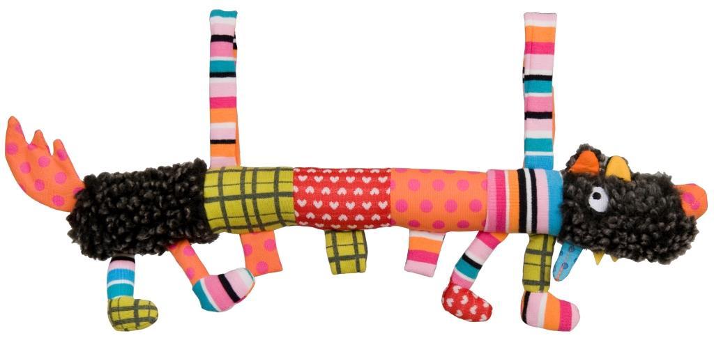 Мягкая игрушка Ebulobo Сосиска Волчонок L, 40 см ebulobo мягкая игрушка сосиска волчонок s 20 см ebulobo
