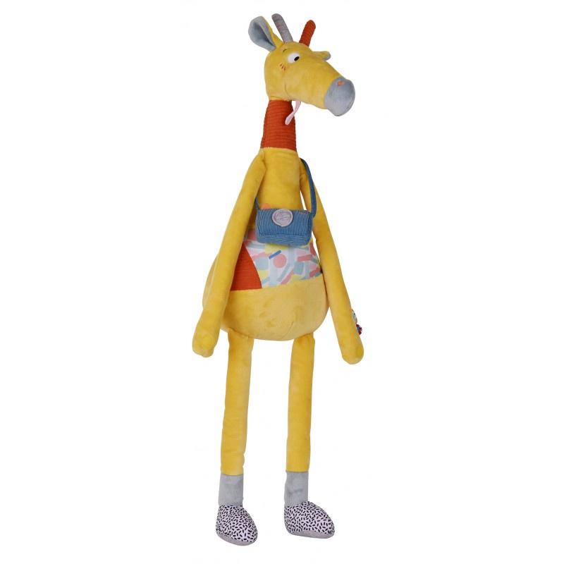 Мягкая игрушка Ebulobo Жираф Билли, 70 см цена