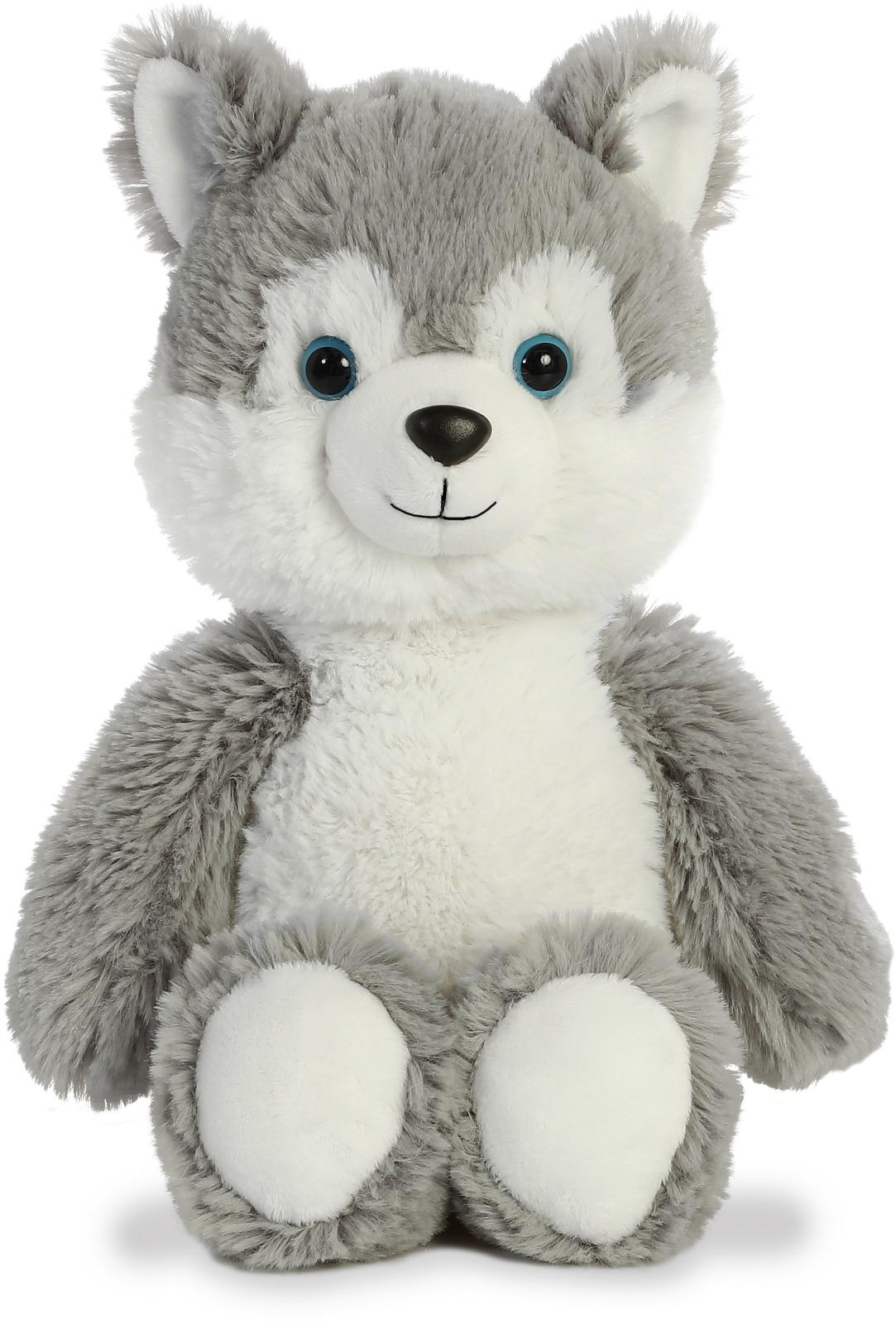 Игрушка мягкая Aurora Cuddly Friends Хаски, 30 см цена