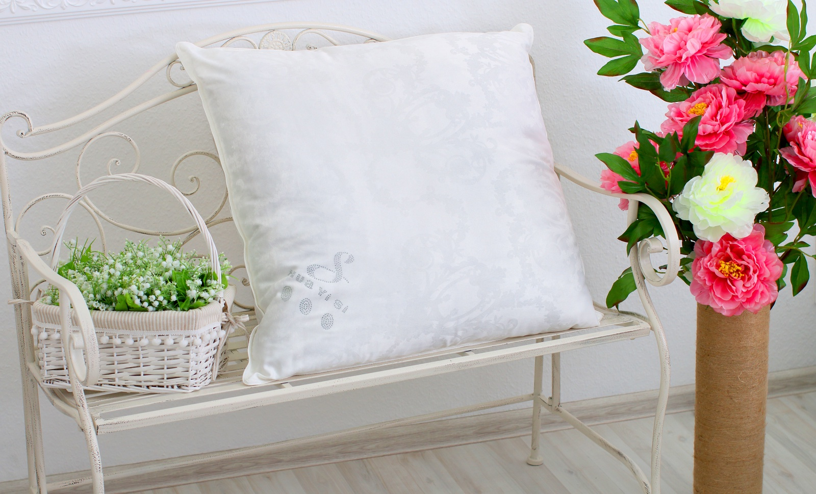 Подушка HUAYISI подушка большая, белый