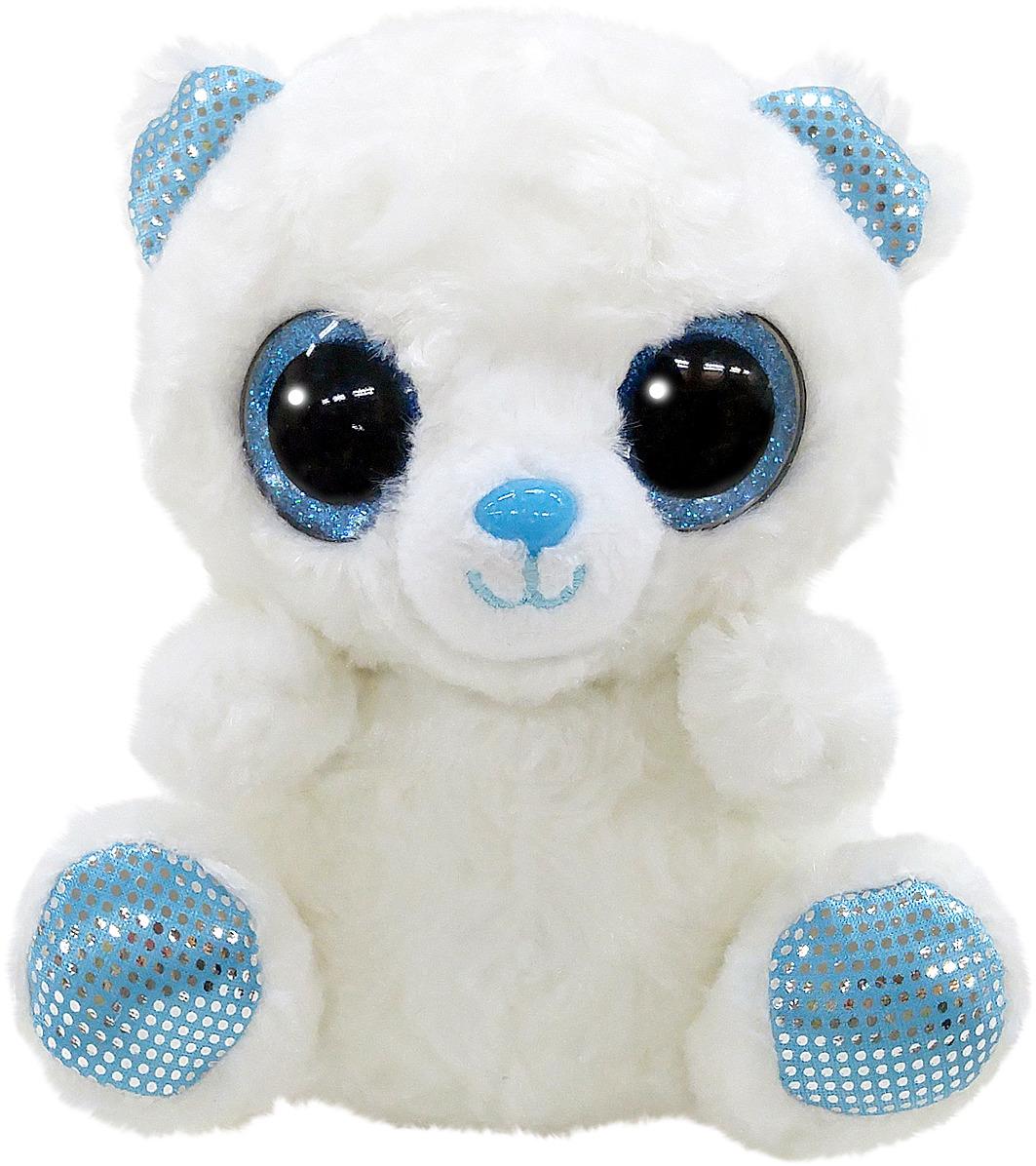 Игрушка мягкая Aurora Юху и друзья Полярный медвежонок, 12 см цена