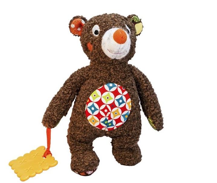 """Мягкая игрушка Ebulobo """"Малыш Мишка"""", цвет:коричневый, 22 см. E50008"""