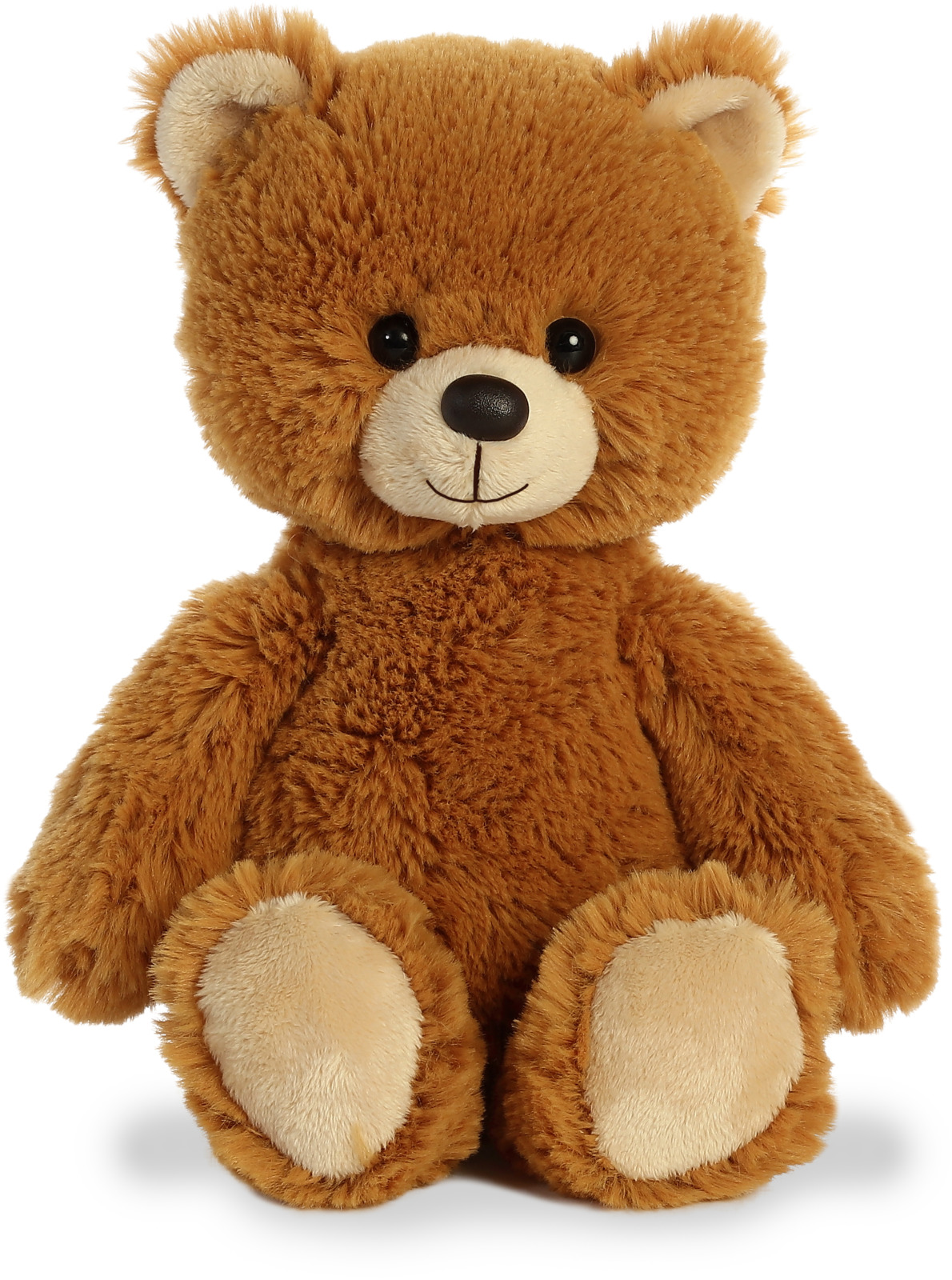 Игрушка мягкая Aurora Cuddly Friends Медвежонок, 180154C, 30 см мягкая игрушка хаски aurora cuddly friends текстиль пластик плюш белый серый 30 см