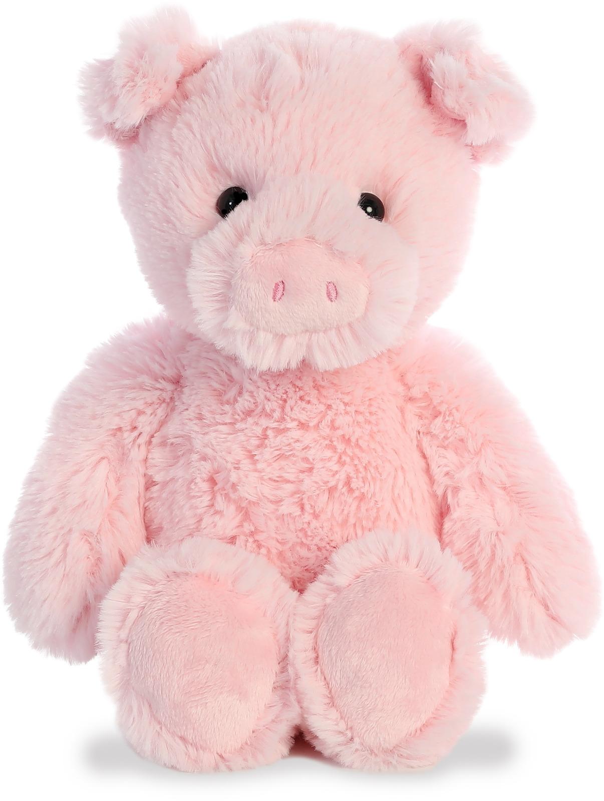 Игрушка мягкая Aurora Cuddly Friends Поросенок, 30 см цена