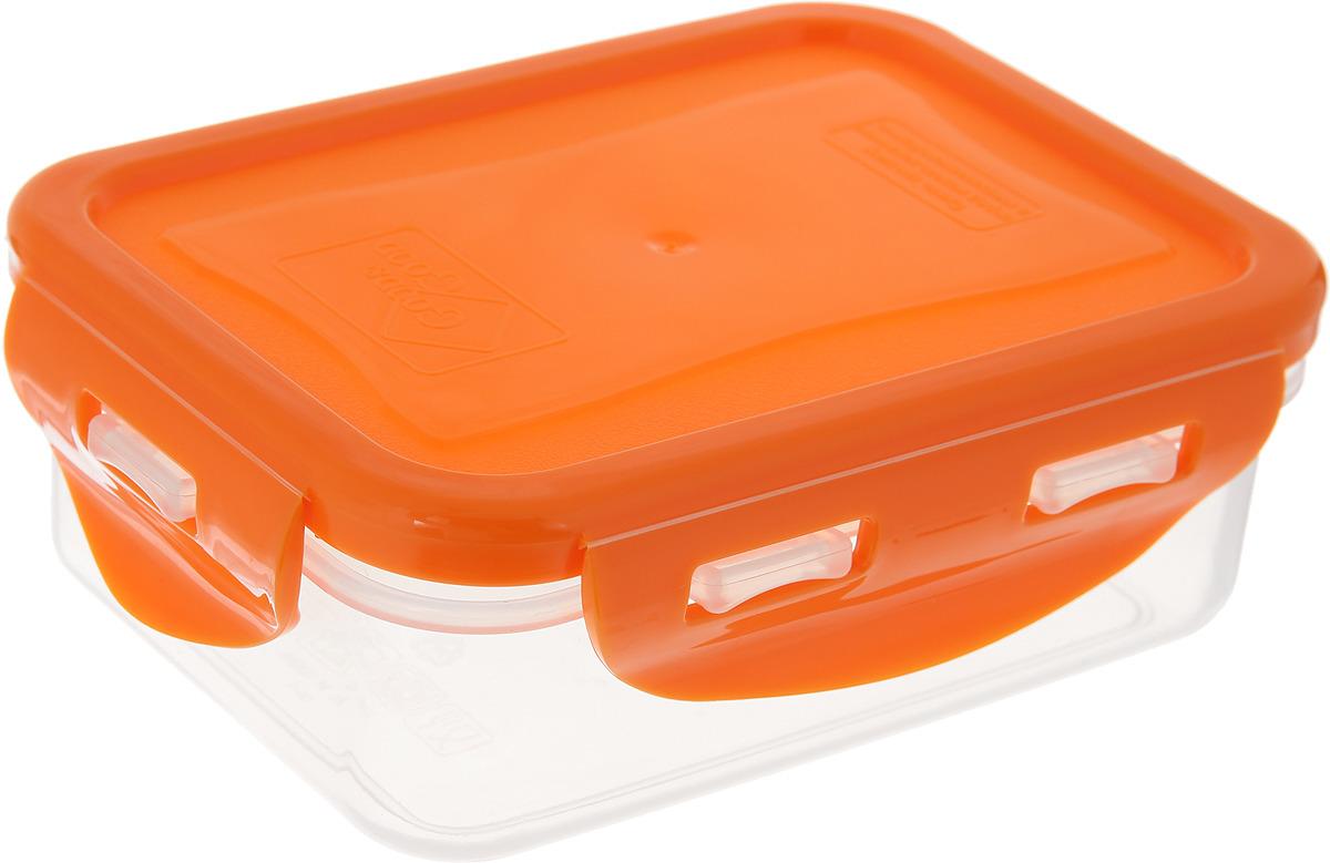 Контейнер пищевой Good&Good, цвет: оранжевый, 330 мл good