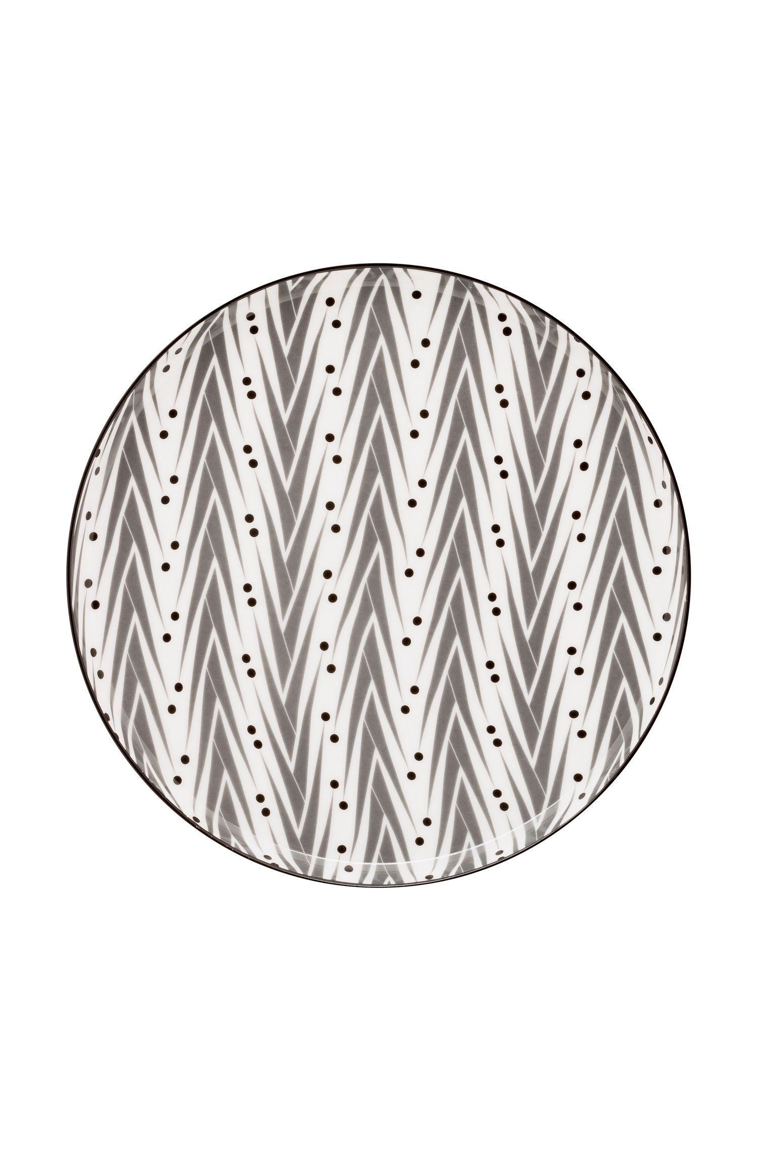 цена на Набор тарелок Designed For Living Lemon Grass, 53.001.003, серый, 2 шт