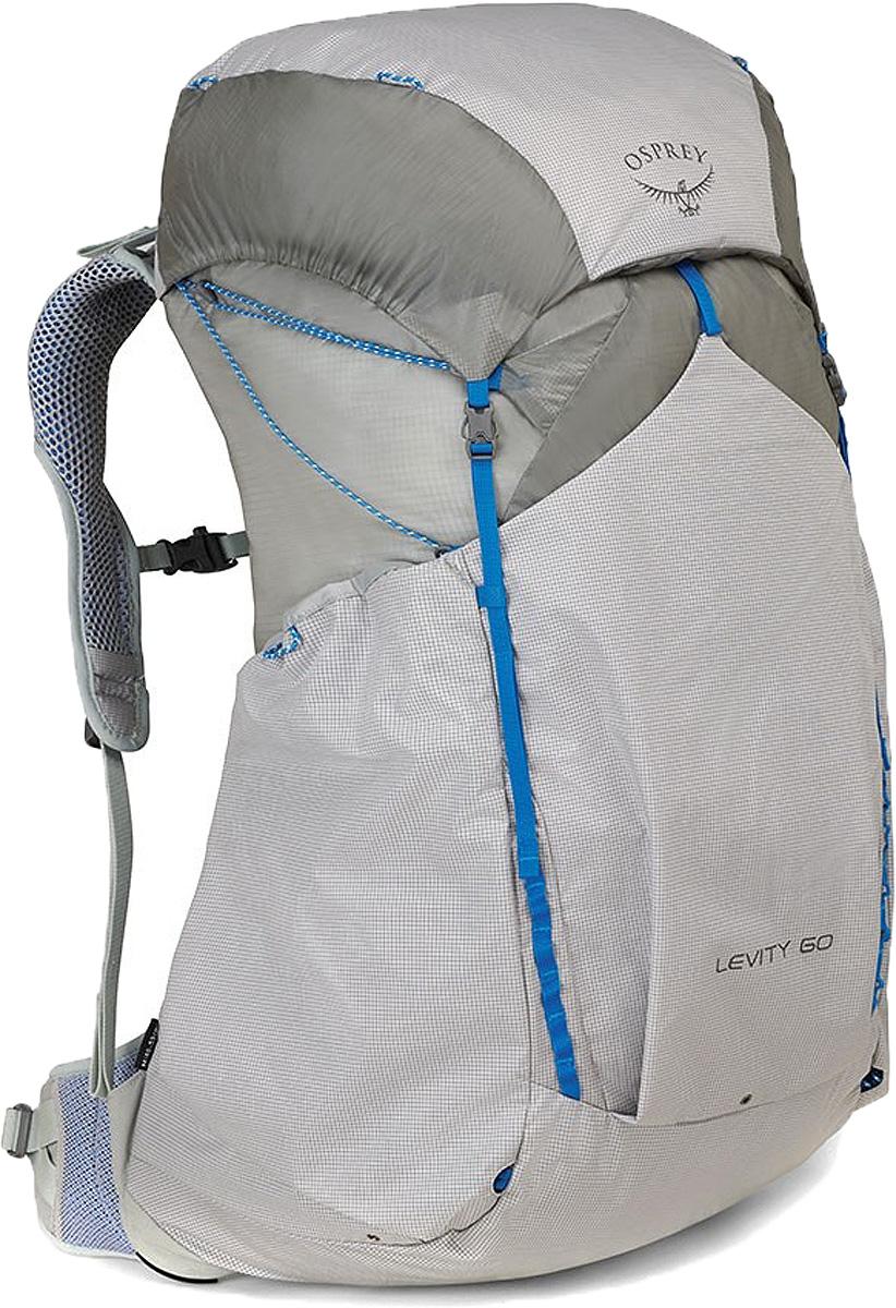 Рюкзак Osprey Levity 60, цвет: серый, 60 л