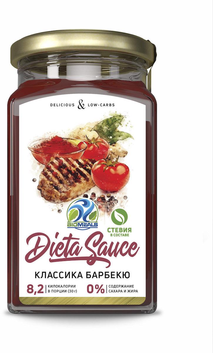 Соус BioMeals Dieta Sauce, классика барбекю, 310 г соус паста pearl river bridge hoisin sauce хойсин 260 мл