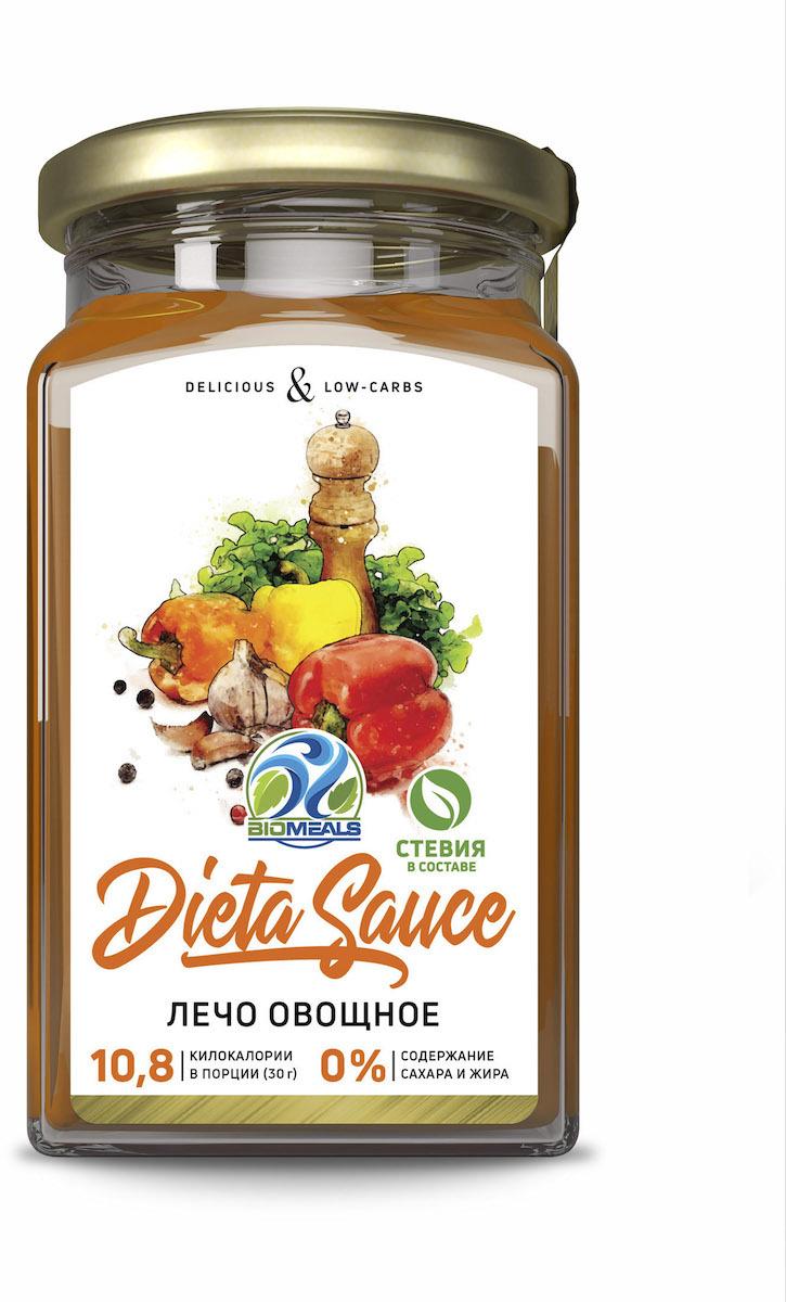 Соус BioMeals Dieta Sauce, лечо овощное, 310 г соус чили pearl river bridge yellow lantern chili sauce 240 г