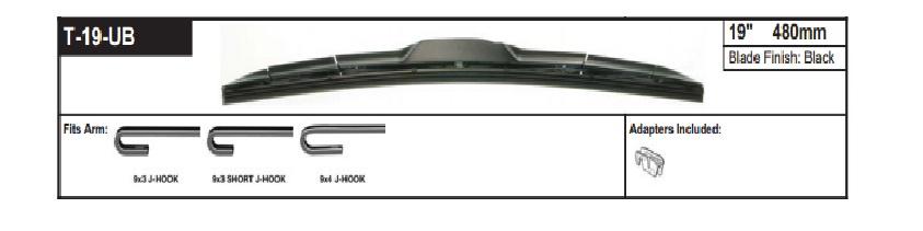 Щетка с/о Transform гибридная 475 мм Anco