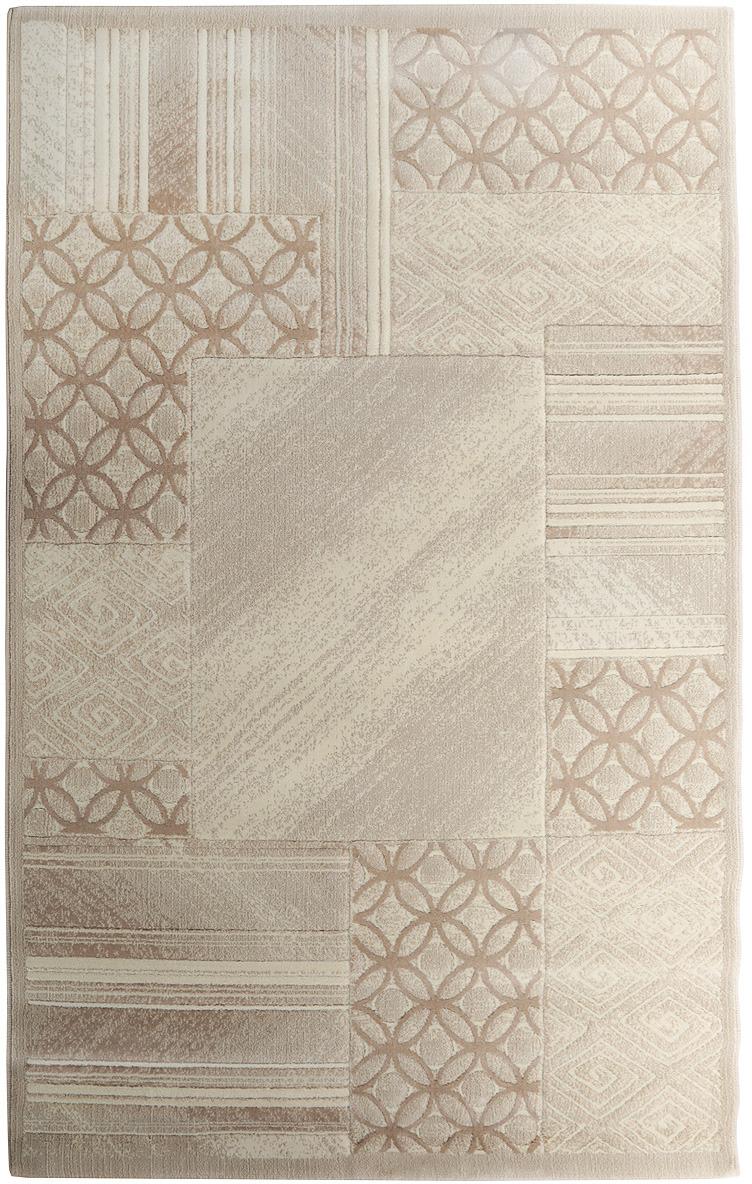 Ковер Oriental Weavers Скай Лайн, цвет: бежево-коричневый, 120 х 180 см. 90 W ковер oriental weavers леа цвет коричневый 120 х 180 см 14922