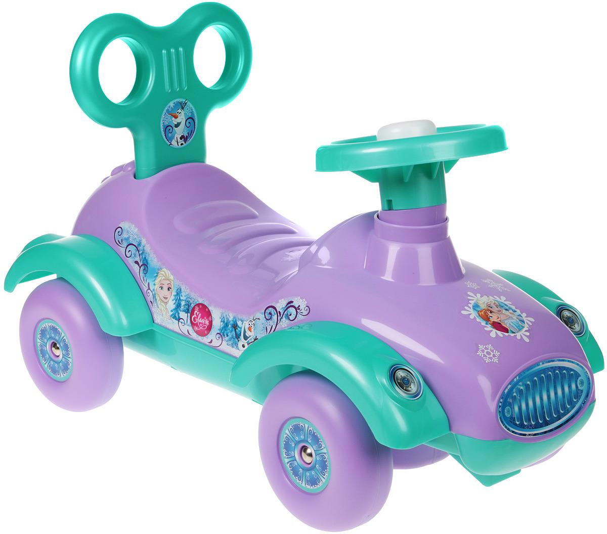 Автомобиль-каталка Полесье Disney. Холодное сердце, цвет в ассортименте автомобиль каталка полесье премиум 2 67142 цвет в ассортименте