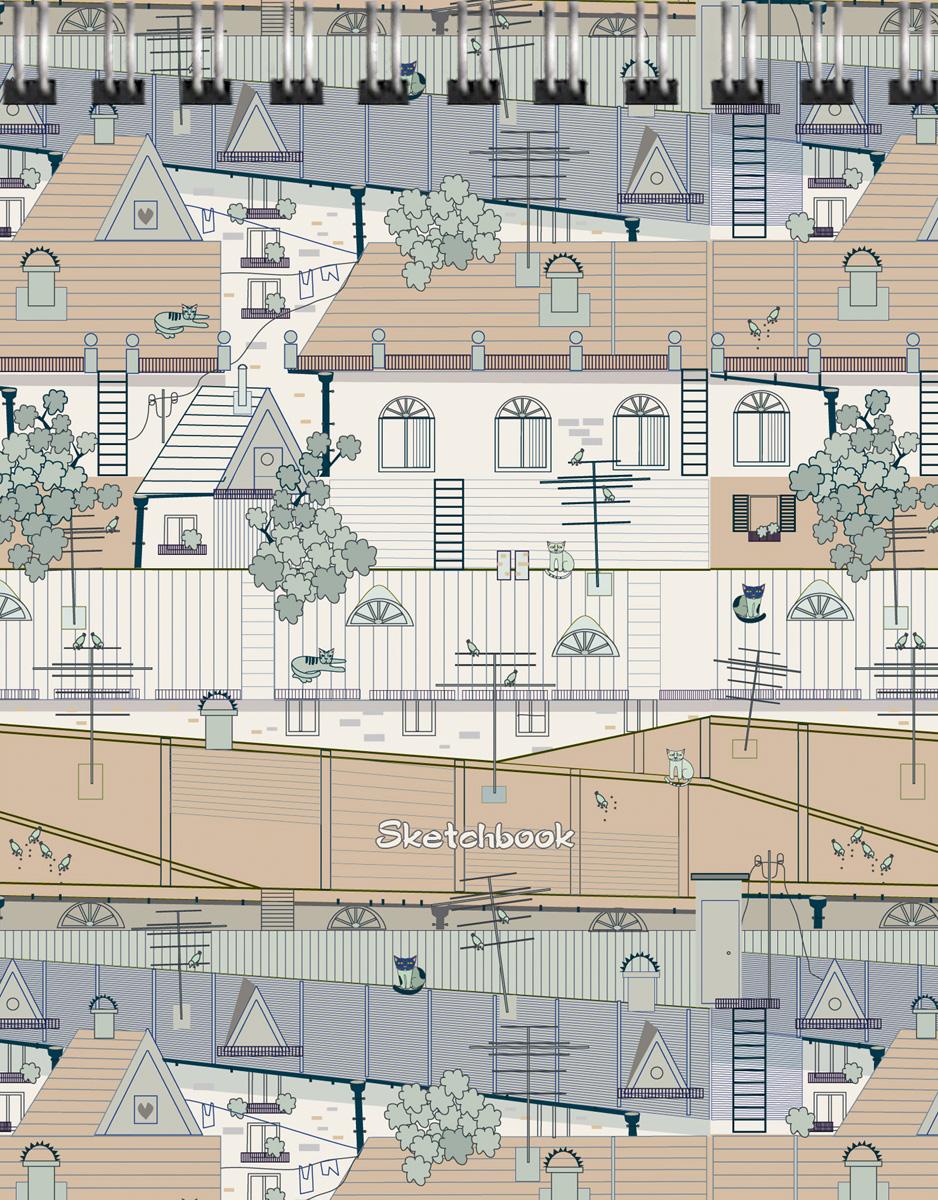 Скетчбук Listoff Крыши города. Графика, 80 листов, формат А600000142764Скетчинг – современное увлечение, способ самовыражения, отражение впечатлений в путешествии или просто возможность занять время в ожидании. В скетчбуках «Канц-Эксмо» бумага плотностью 100г/м2, которая идеально подходит для ежедневных зарисовок самыми разными письменными и художественными принадлежностями.