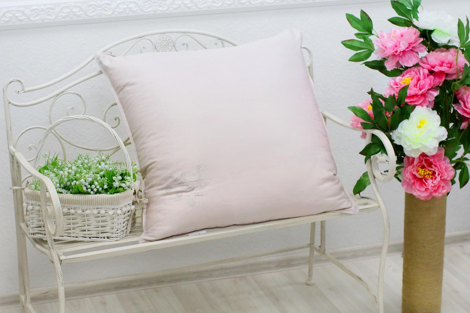 Подушка HUAYISI подушка большая, сиреневый