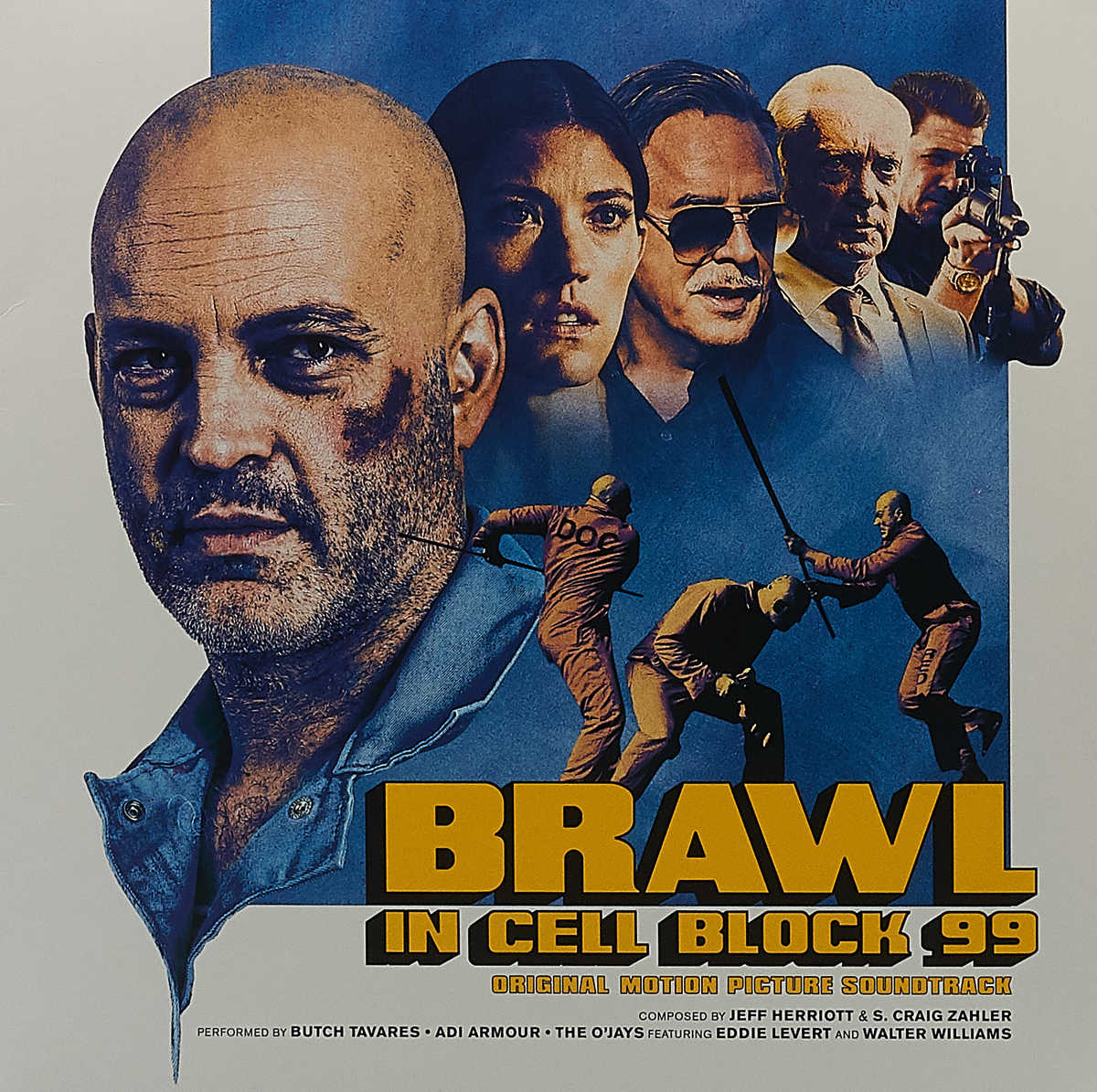 Butch Tavares,Adi Armour,The O'Jays Brawl in Cell Block 99. Original Motion Picture Soundtrack (LP) the last picture show original recordings featured in the soundtrack