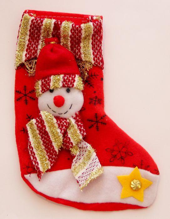 Новогоднее подвесное украшение Magic Time Снеговик, цвет: красный, белый, 20 х 11 см новогоднее подвесное украшение magic time венок цвет белый диаметр 12 7 см