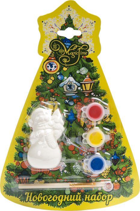 """Новогодний набор для творчества Magic Time """"Снеговик с елочкой"""". 75925"""
