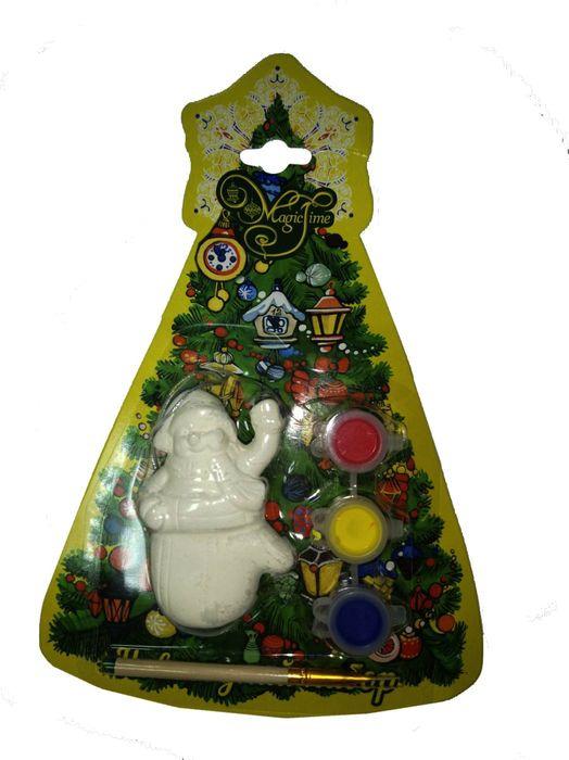 """Новогодний набор для творчества Magic Time """"Снеговик в варежке"""". 75928"""