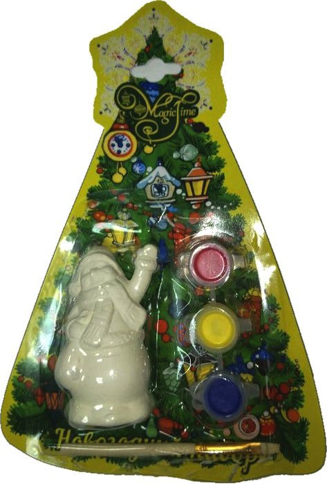 """Новогодний набор для творчества Magic Time """"Снеговик с мешком"""". 75932"""