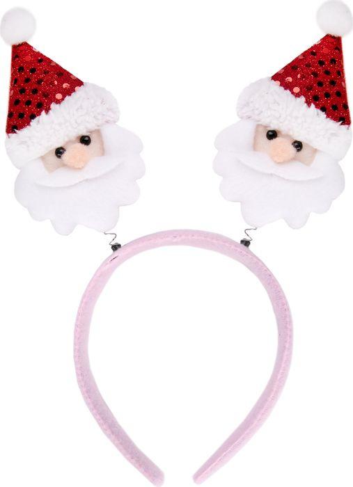 Фото - Новогоднее украшение Magic Time Розовый Дед Мороз. 76200 новогоднее украшение на голову magic time дед мороз в полосатом колпаке 78606