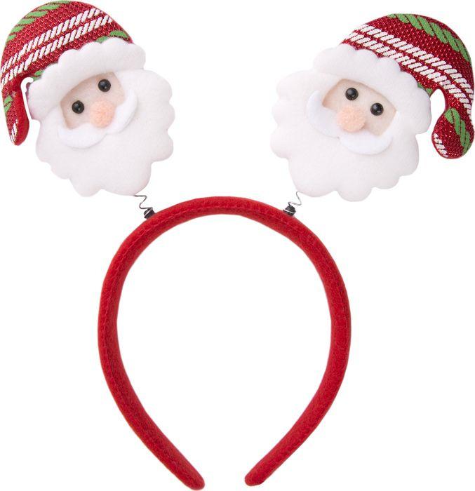 Фото - Новогоднее украшение Magic Time Дед Мороз в шапке. 76202 новогоднее украшение на голову magic time дед мороз в полосатом колпаке 78606