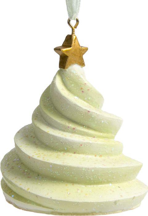 Новогоднее подвесное украшение Magic Time Зеленое пирожное, 6 х 6 х 7 см77857Украшения для елки из полирезины – уникальное и эксклюзивное дополнение новогоднего декора. Этот материал позволяет прорабатывать самые мелкие детали, создавая замысловатые формы и сложные узоры. Именно поэтому украшения из этой коллекции выглядят столь необычно. Каждое из них снабжено подвесом, что позволяет размещать игрушки на ветках новогодней елки, украшать ими помещение. Игрушка из полирезины станет настоящей жемчужиной коллекции новогодних украшений, из года в год накапливая теплоту воспоминаний о веселых праздниках. Новогоднее подвесное украшение Зеленое пирожное из полирезины / 6х6х7см арт.77857