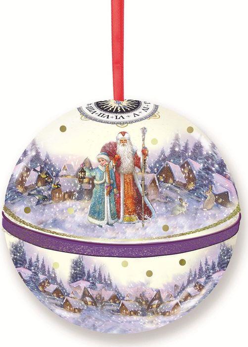 Новогоднее подвесное украшение Magic Time Шар. Сказка, с предсказанием внутри. 77878 новогоднее подвесное украшение елочный шар цвет золотистый 25110