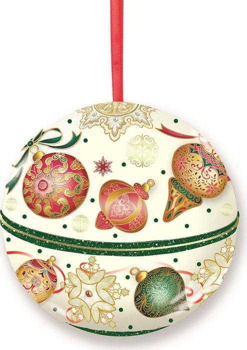 Новогоднее подвесное украшение Magic Time Шар. Игрушки, с предсказанием внутри. 77879 новогоднее украшение crystal deco шар капля в ассортименте