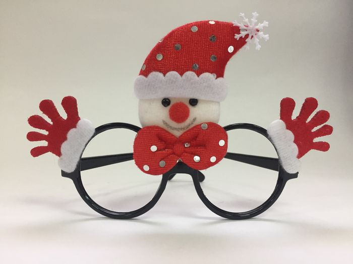 Очки новогодние Magic Time Красный Снеговик. 78591 очки новогодние magic time желтый снеговик 78592